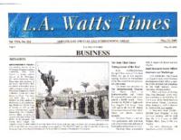 LA Watts Times 5-22-2003