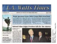 LA Watts Times 8-1-02