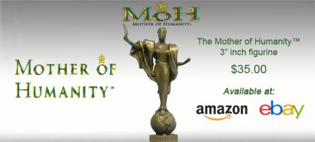 Mother of Humanity® Miniature Sculpture by Nijel Binns