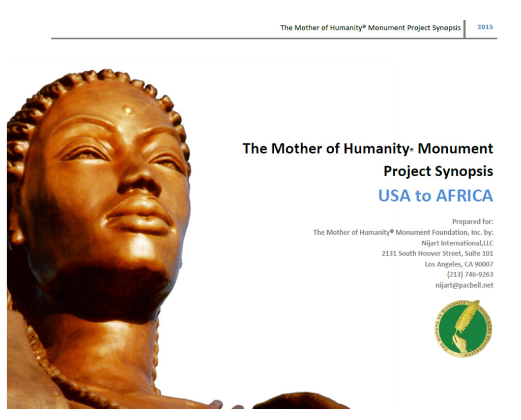 MoH Monument Project Synopsis cover page